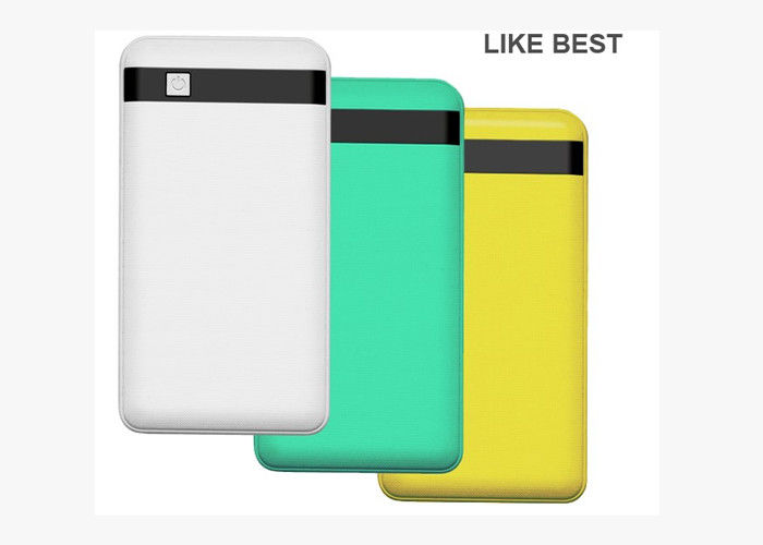 Dual Output New 8000mAh Li Polymer Power Bank with LED Flashlight