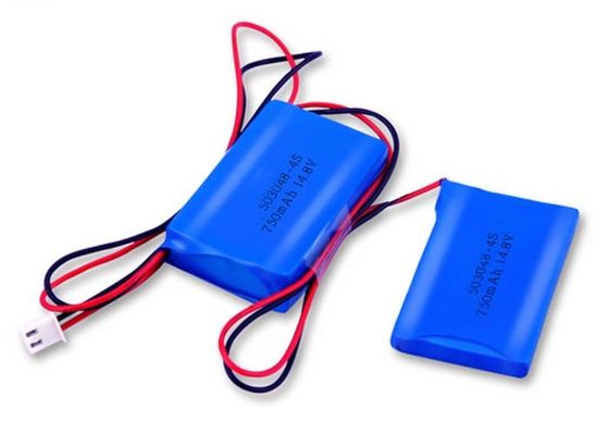China Bloco 4S1P 750mah da bateria do polímero do lítio do equipamento médico 14.8V distribuidor